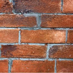 Fausses briques enduit et patines