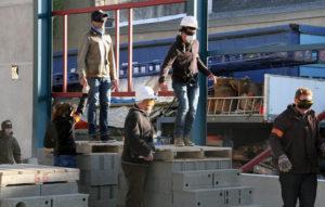 Visite de chantier au pOlau - Parcours les yeux bandés