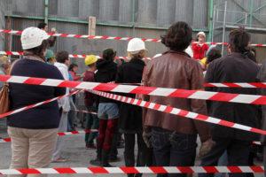 Visite de chantier au pOlau - Se libérer des contraintes